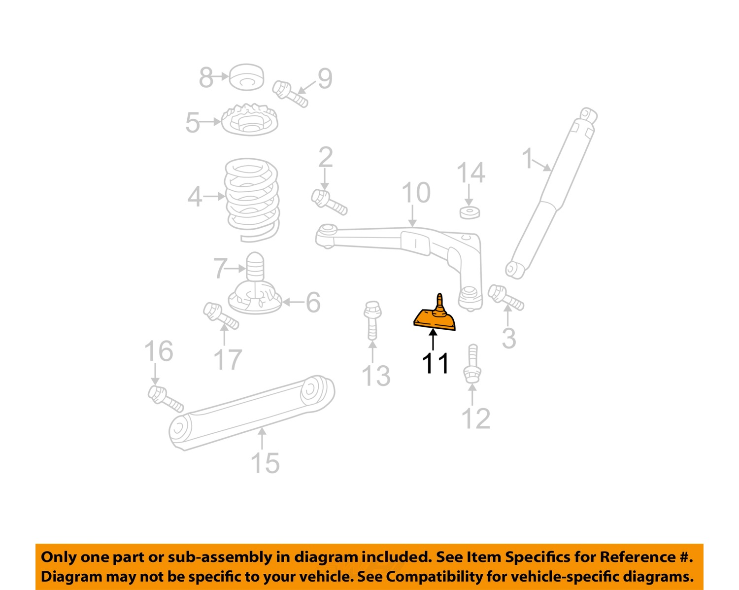 Purchase Jeep Chrysler Oem 99 04 Grand Cherokee Rear Suspension Ball Diagram Joint 52088808ab