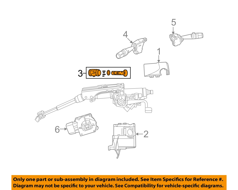 diagram of fuse box for chrysler 300 limited chrysler oem-ignition lock cylinder 5179511aa diagram of chrysler lock cyl #5