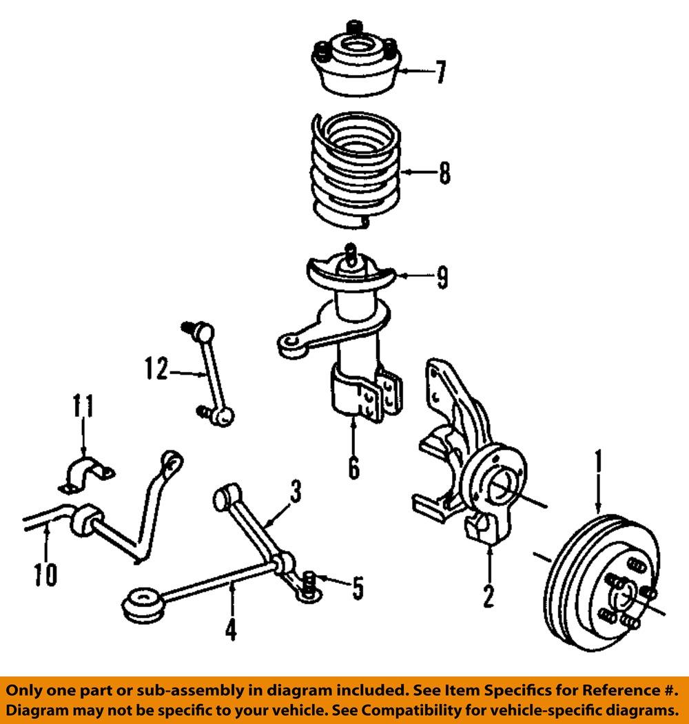 CHRYSLER OEM Front Suspension-Strut Mount 4582758   eBayeBay