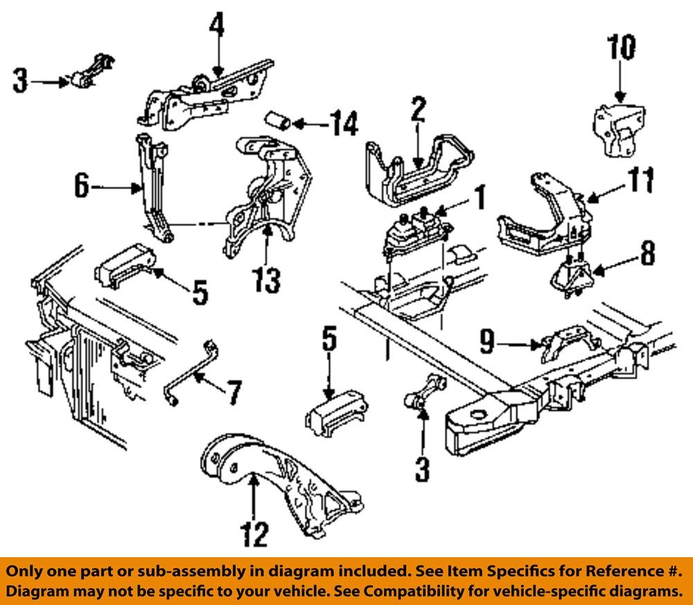 Pontiac Gm Oem Grand Prix Engine Motor  U0026 Transmission