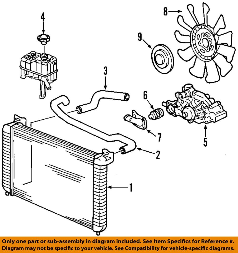 Radiator Coolant Hose Lower ACDelco GM Original Equipment 22827735