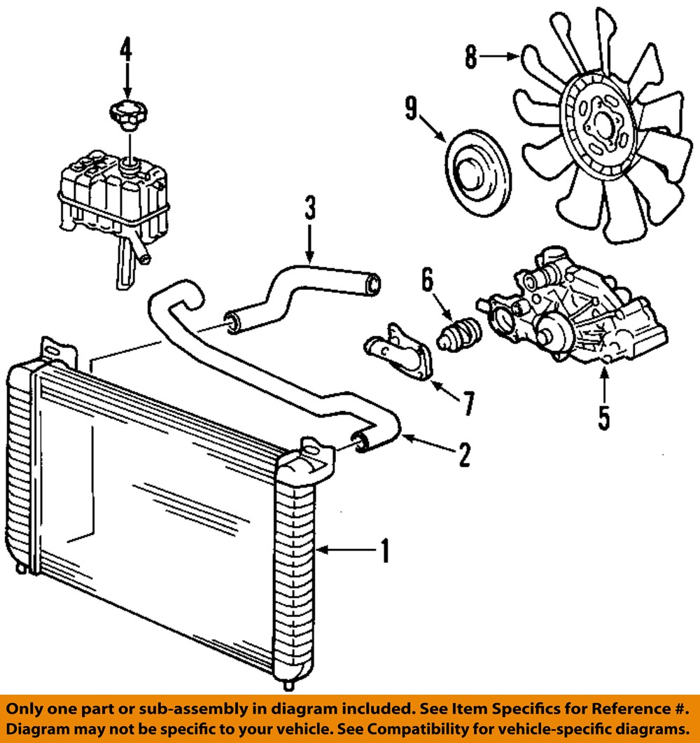 [SCHEMATICS_48DE]  GM OEM-Engine Coolant Thermostat 89018168 | eBay | Gm Engine Coolant Diagram |  | eBay