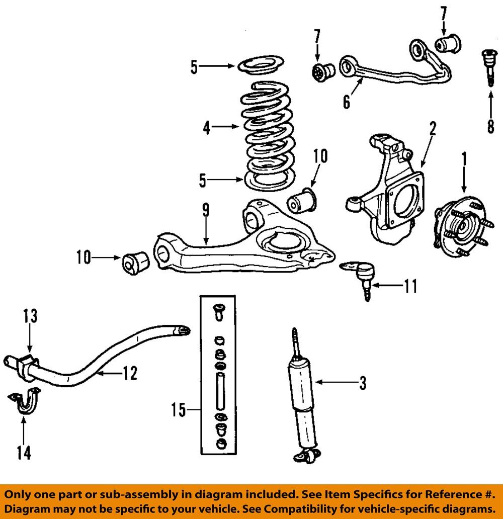 GM OEM Front Suspension-Shock Absorber 20955500