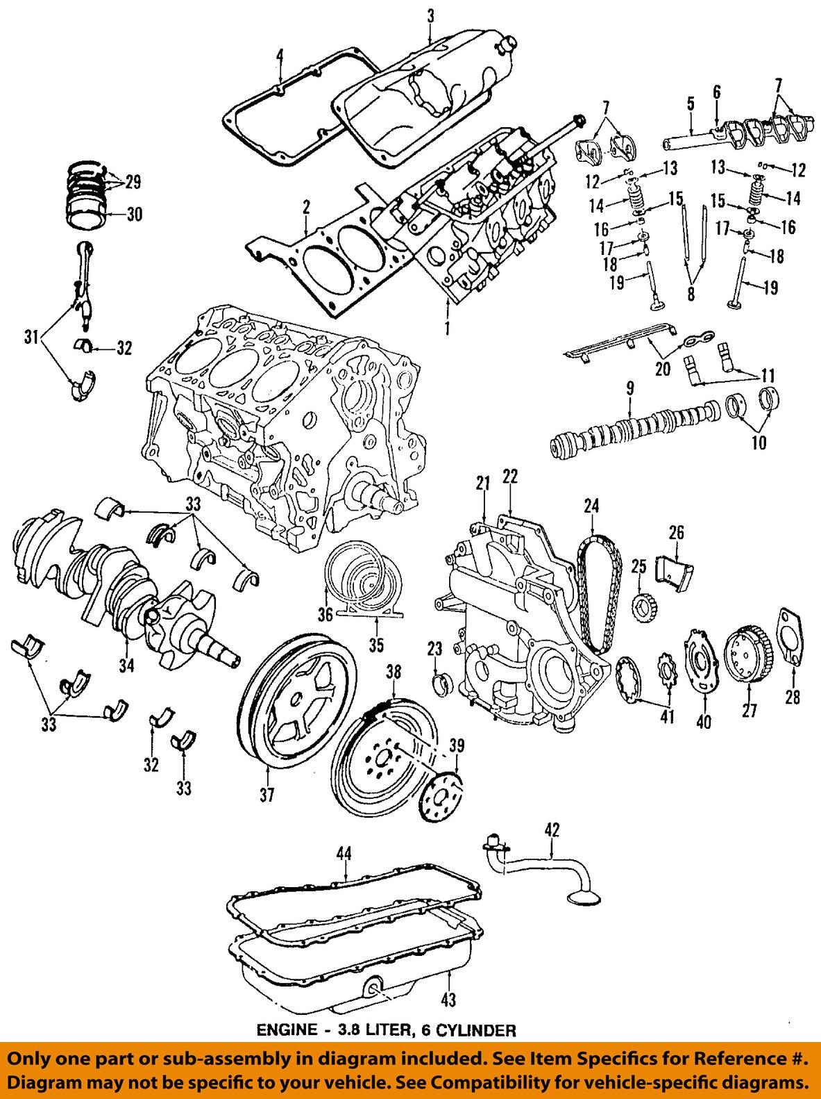 chrysler oem-valve cover gasket 4648987aa | ebay  ebay