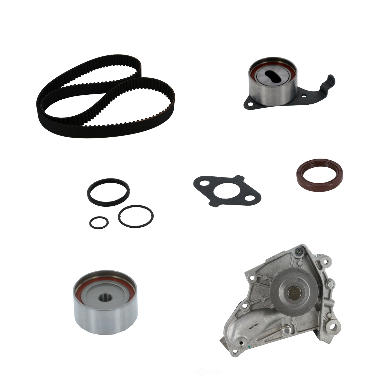 Engine Timing Belt Kit With Wate Fits 1987-2001 Toyota