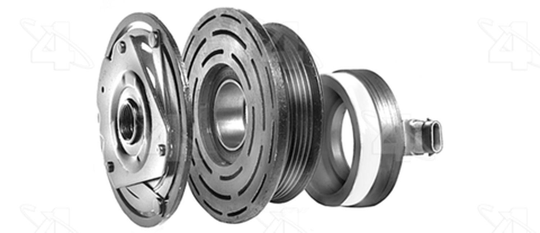 A//C Compressor Clutch-New Clutch Assembly 4 Seasons 47867