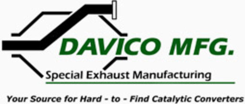 DAVICO MFG EXHAUST - Exact-Fit Exhaust Pipe - DME 628841