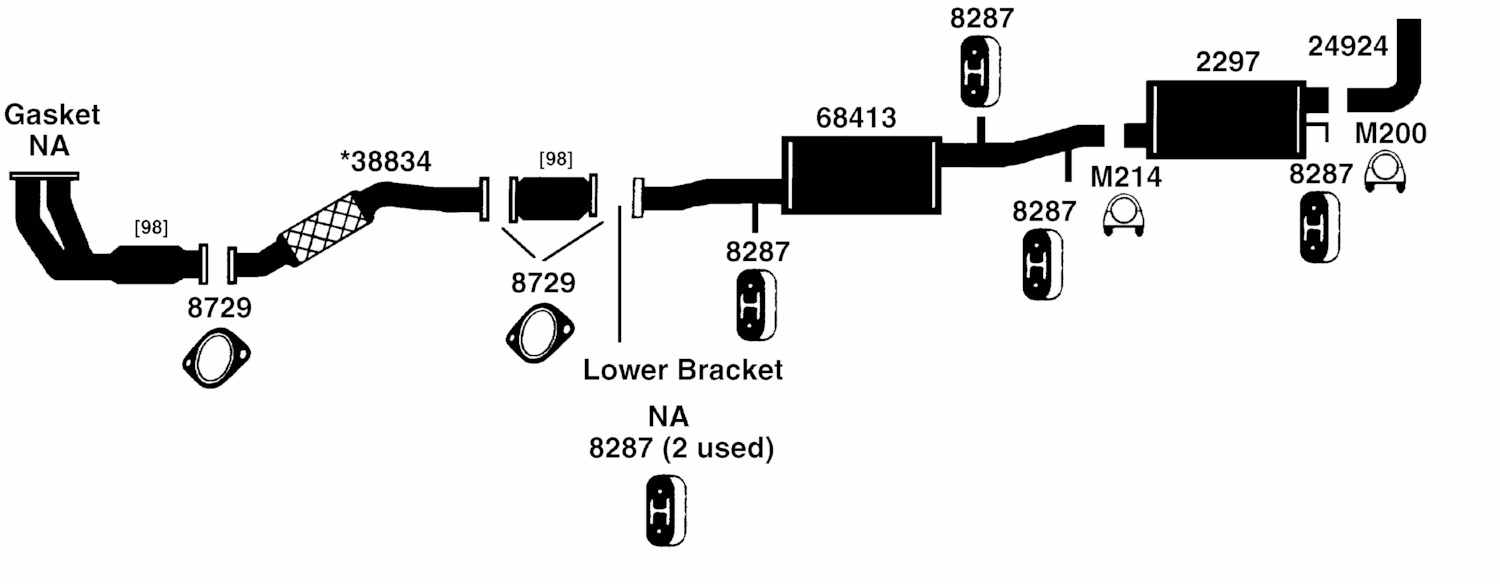 Mercury Villager Exhaust Diagram From Best Value Auto Parts Jeep System