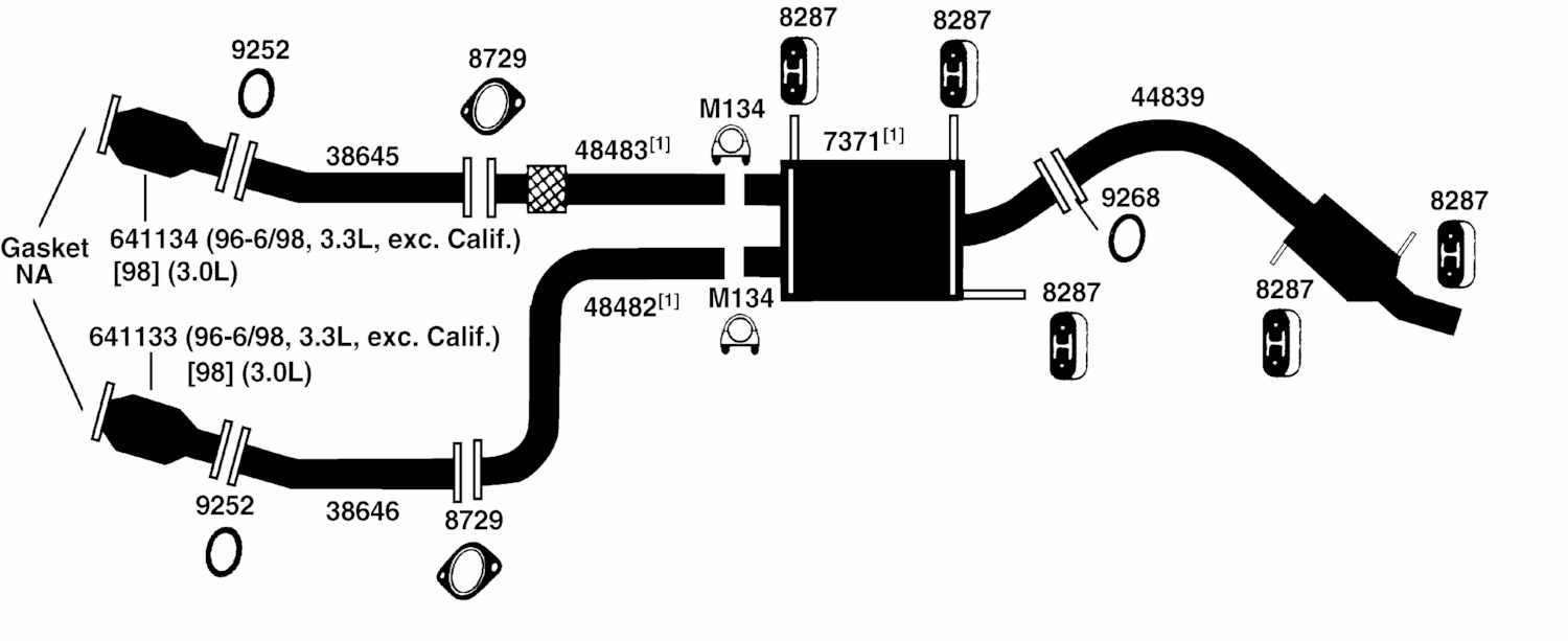 1998 Nissan Pathfinder Exhaust System Diagram Wiring Datsun From Best Value Auto Parts Rh Bestvalueautoparts Com