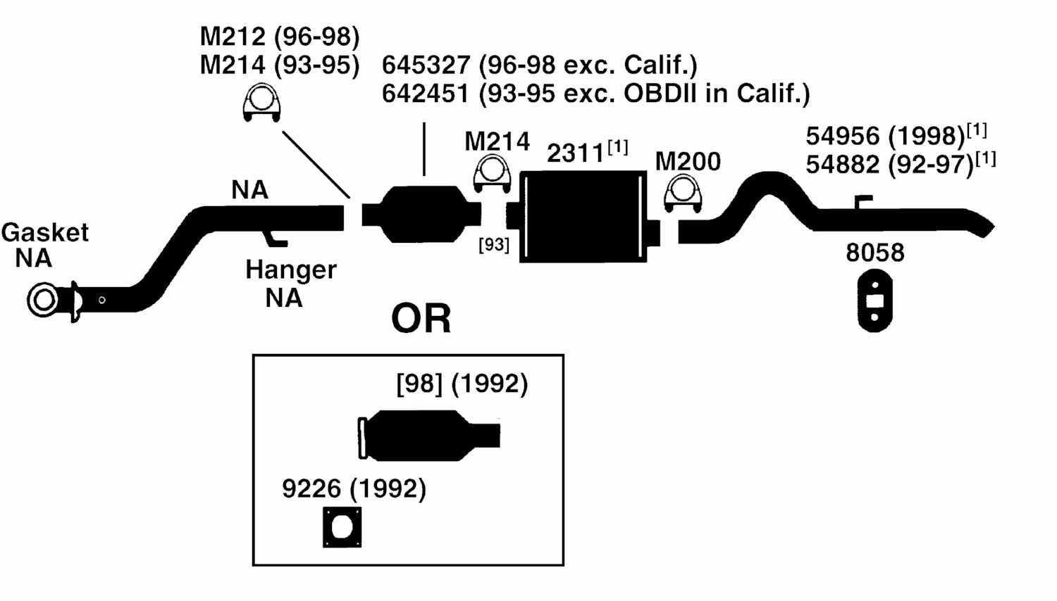 1997 Jeep Cherokee Exhaust System Diagram 1996 Wrangler Wiring Starting Know About Rh Prezzy Co Xj Grand Headers