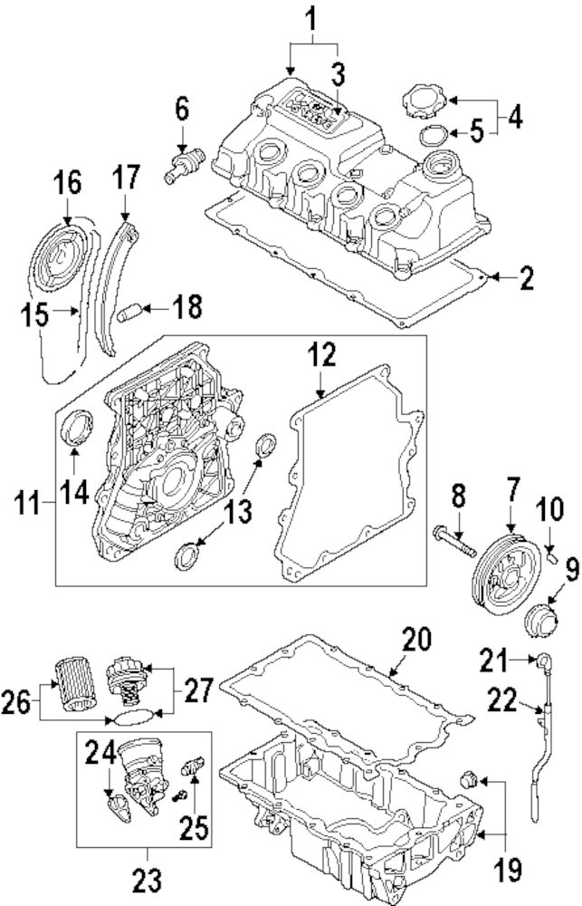2004 Mini Cooper S Parts Diagram