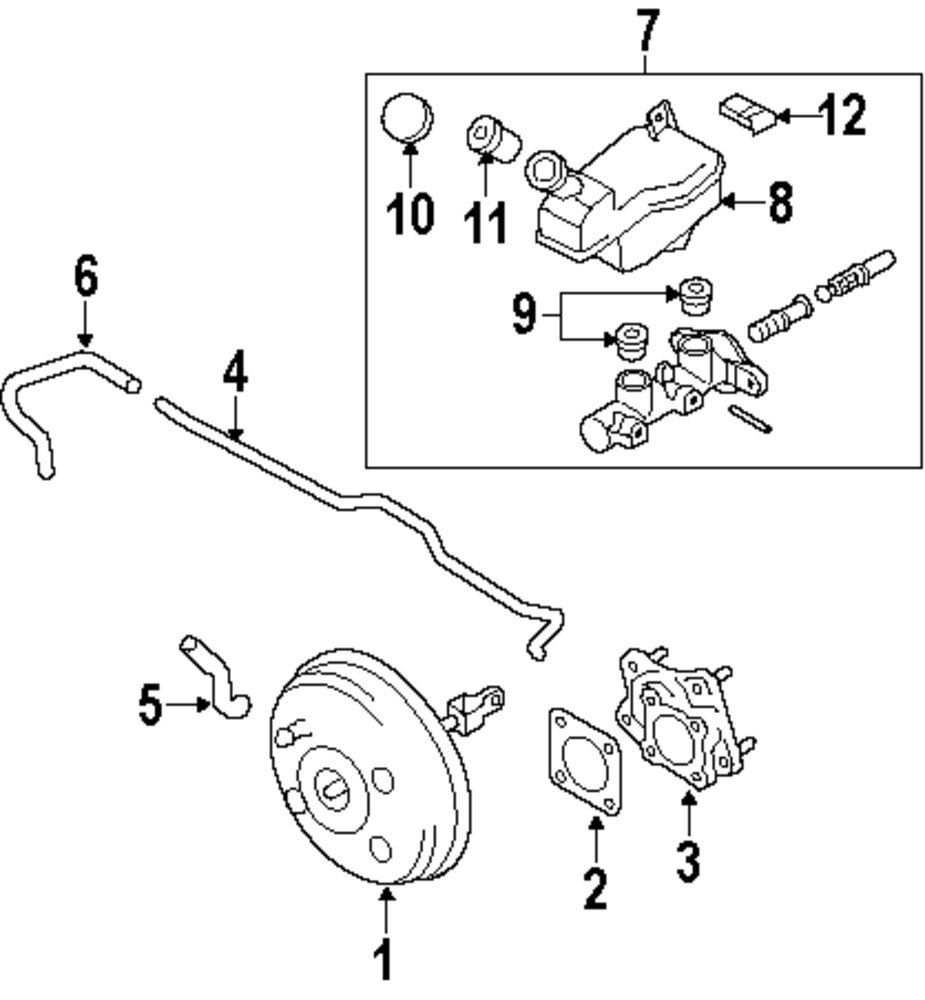 Browse A Sub Category To Buy Parts From Nissan Master Cylinder Diagram Genuine Nis D60101fe2c