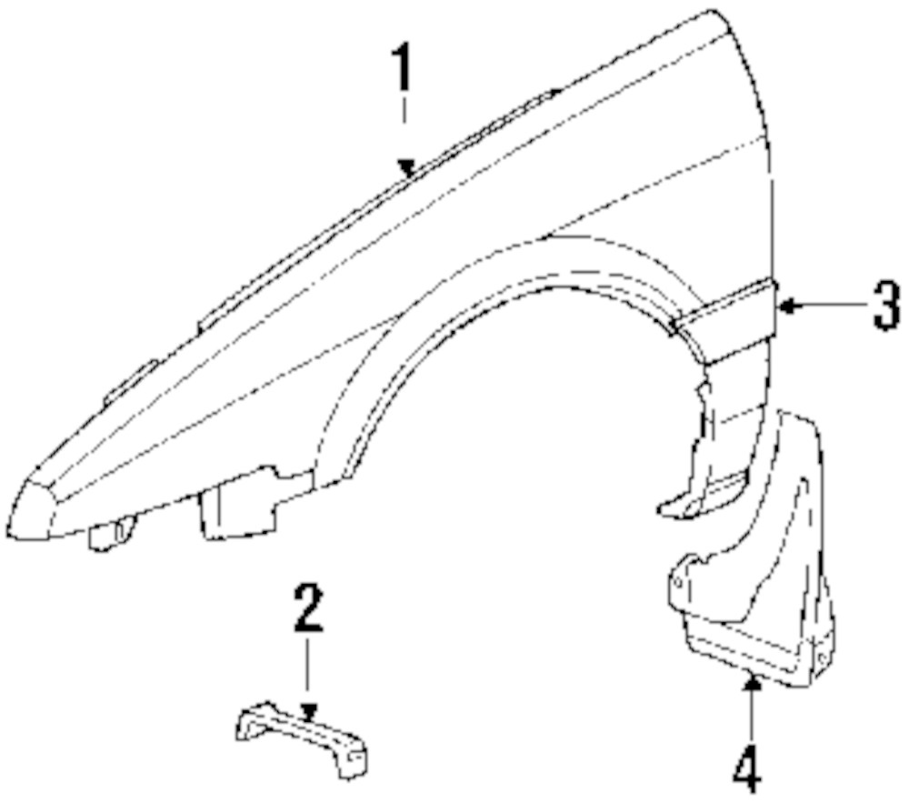 Browse A Sub Category To Buy Parts From Honda Fender Diagram Genuine Bracket Hon 60212se0000zz