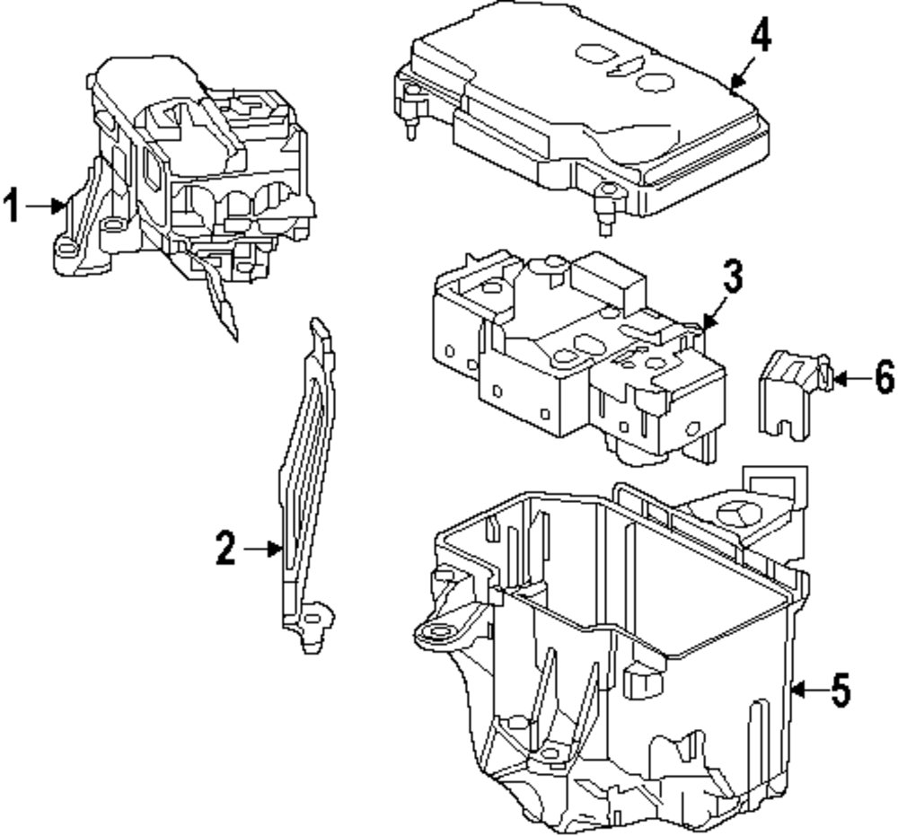 Browse A Sub Category To Buy Parts From Mercedes Benz Fuse Box Layout Genuine Upper Cover Mbz 2225400082
