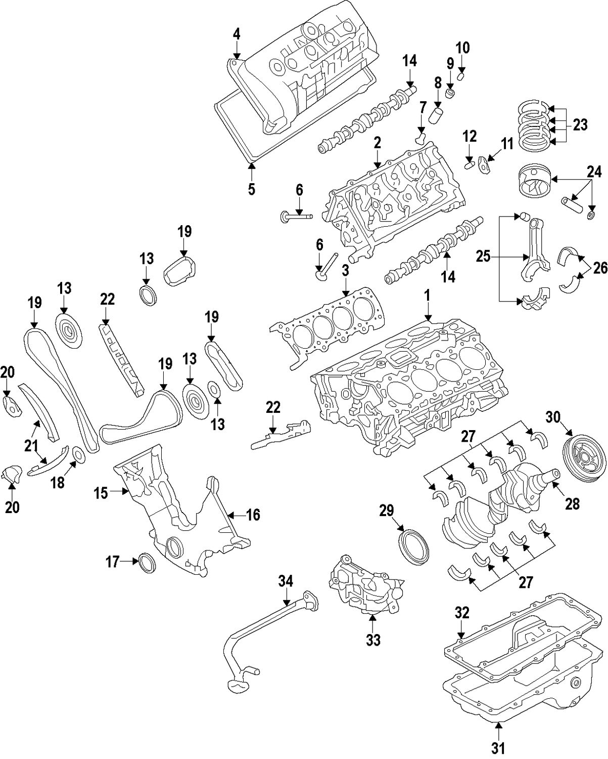 Browse A Sub Category To Buy Parts From Mustang Engine Diagram Piston Rings