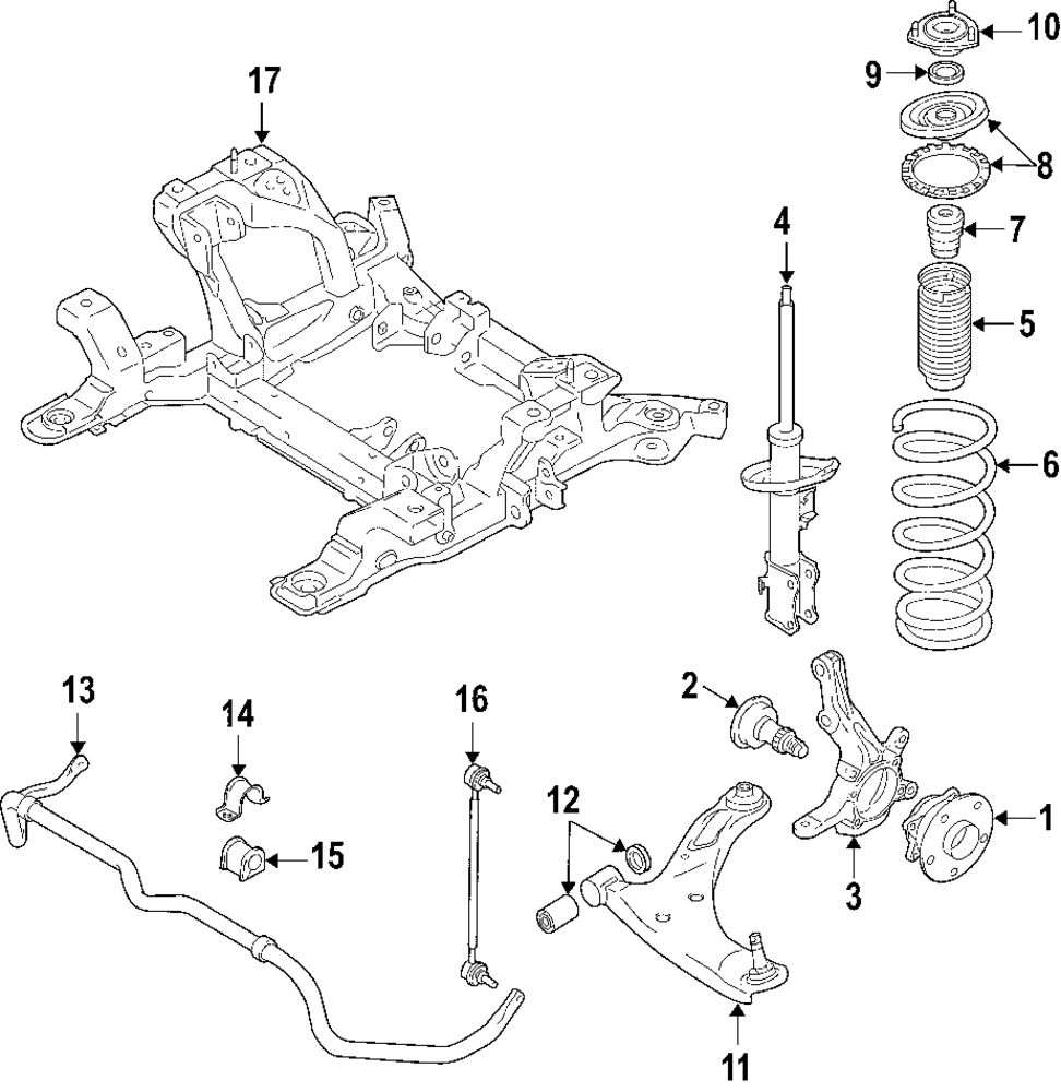 2001 Suzuki Grand Vitara Front End Diagram List Of Schematic Jeep Wrangler Suspension Browse A Sub Category To Buy Parts From Mopardirectparts Com Rh