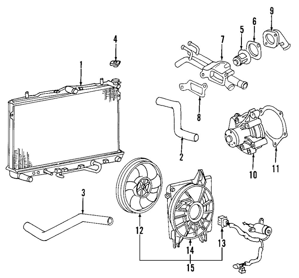 Browse A Sub Category To Buy Parts From 2009 Kia Sportage Engine Diagram Genuine Fan Motor 253862f010