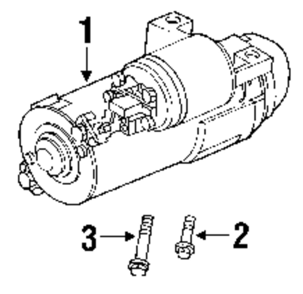 Mopar Direct Parts Dodge Chrysler Jeep Ram Wholesale Retail Mitsubishi Starter Diagram Genuine Pontiac Mount Bolt Pon 14001842