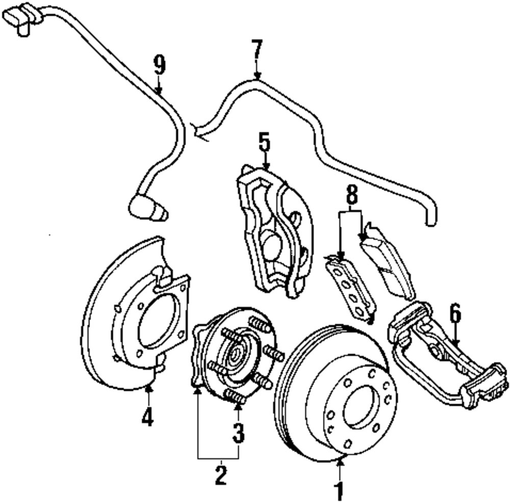 Buy Front Suspension Parts For Acura Mdx Vehicle Mopardirectparts 2005 Hummer H2 Wiring Diagram Genuine Chevrolet Speed Sensor Che 15716205