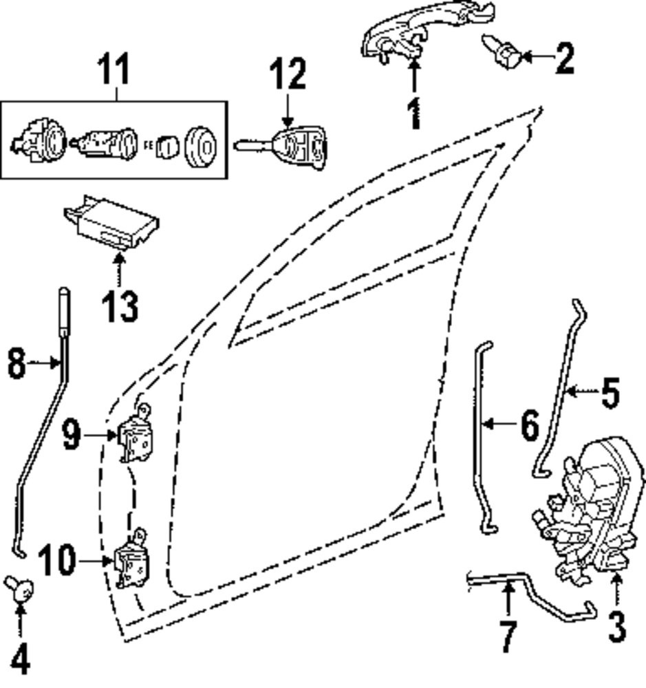 Adsit Company Mercedes Benz Parts Dodge Charger Tail Light Wiring Diagram Genuine Lower Hinge Dod 4575749ag