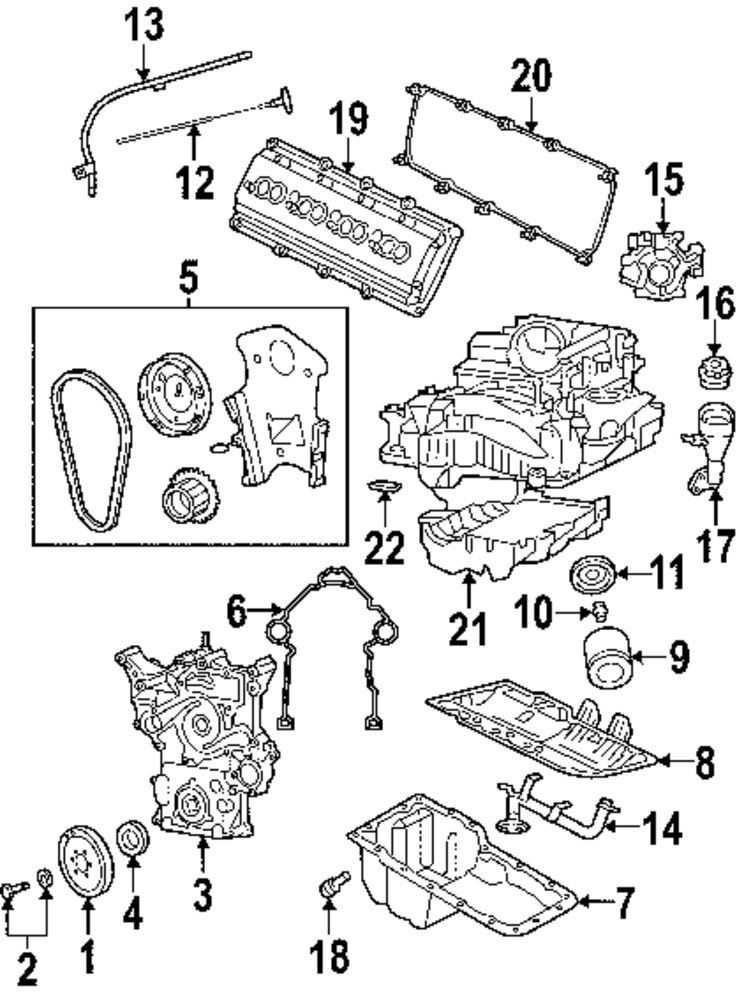 2004 Dodge Ram 2500 Parts Diagram