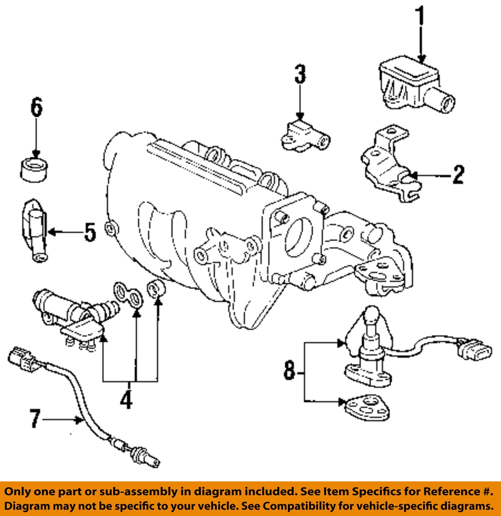 Used Acura Integra Fuel Injection Parts For Sale
