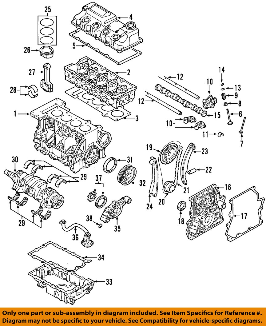 Mini Cooper S Diagrams Wiring 06 Diagram Oem 02 Engine Connecting Rod Bearing Parts