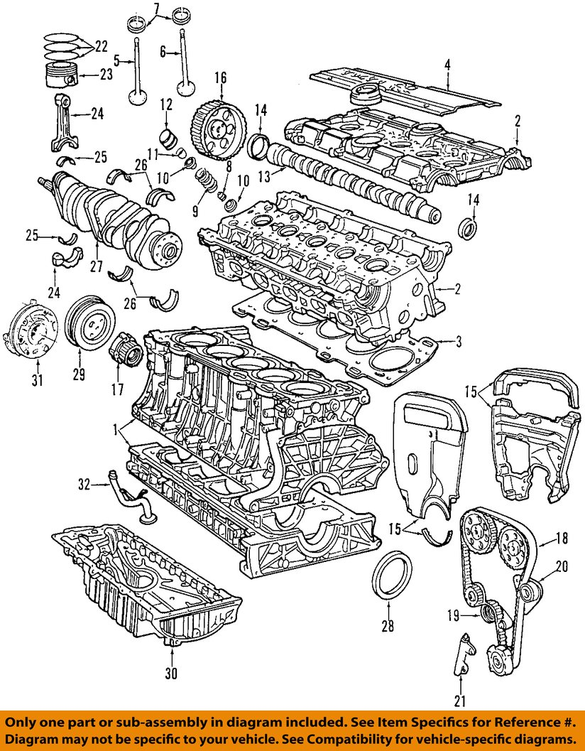 volvo oem 00 07 v70 engine oil pump 30650144 ebay rh ebay com volvo 850 t5 engine wiring diagram volvo c30 t5 engine diagram
