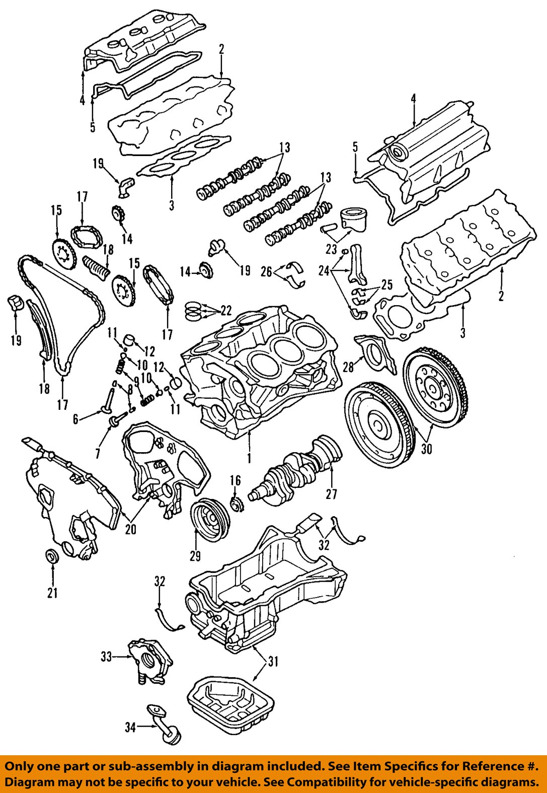 1999 Nissan Altima Valve Cover Gasket Recomended Car 1998 Engine Diagram For Partsgeek Source Parts Circuit Connection