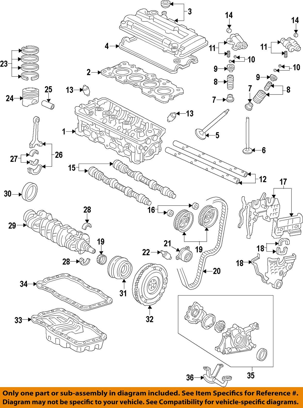 Honda oem camshaft cam seal 91213pr3004 ebay 16 on diagram only genuine oe factory original item pooptronica