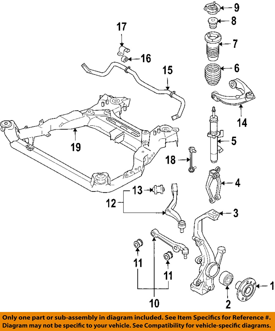 2011 Mazda Mazda6 Suspension: MAZDA OEM 03-08 6 Front Suspension Lower Cntl Arm Left