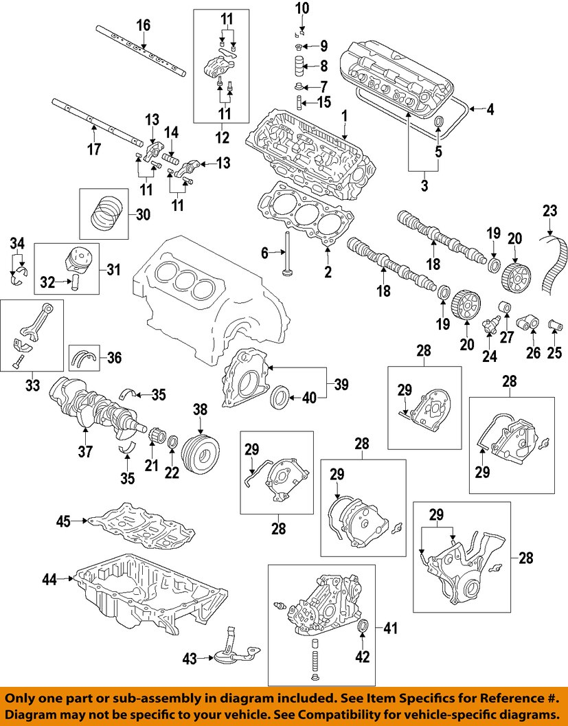 engine crankshaft diagram honda oem-engine crankshaft crank seal 91212r70a02 | ebay ls3 engine parts diagram engine