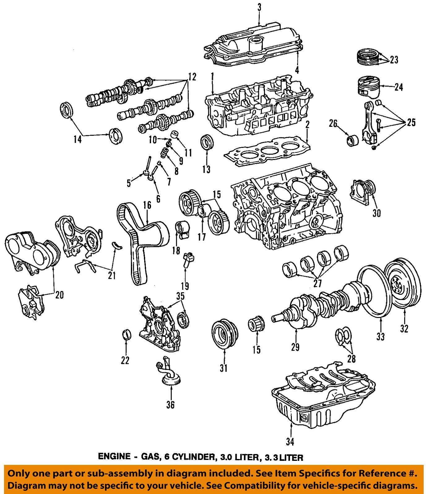 2001 Toyota Avalon Engine Diagram Wiring Schematics Motor Oem Crankshaft Crank Seal 90311 40022 Factory Various Iac