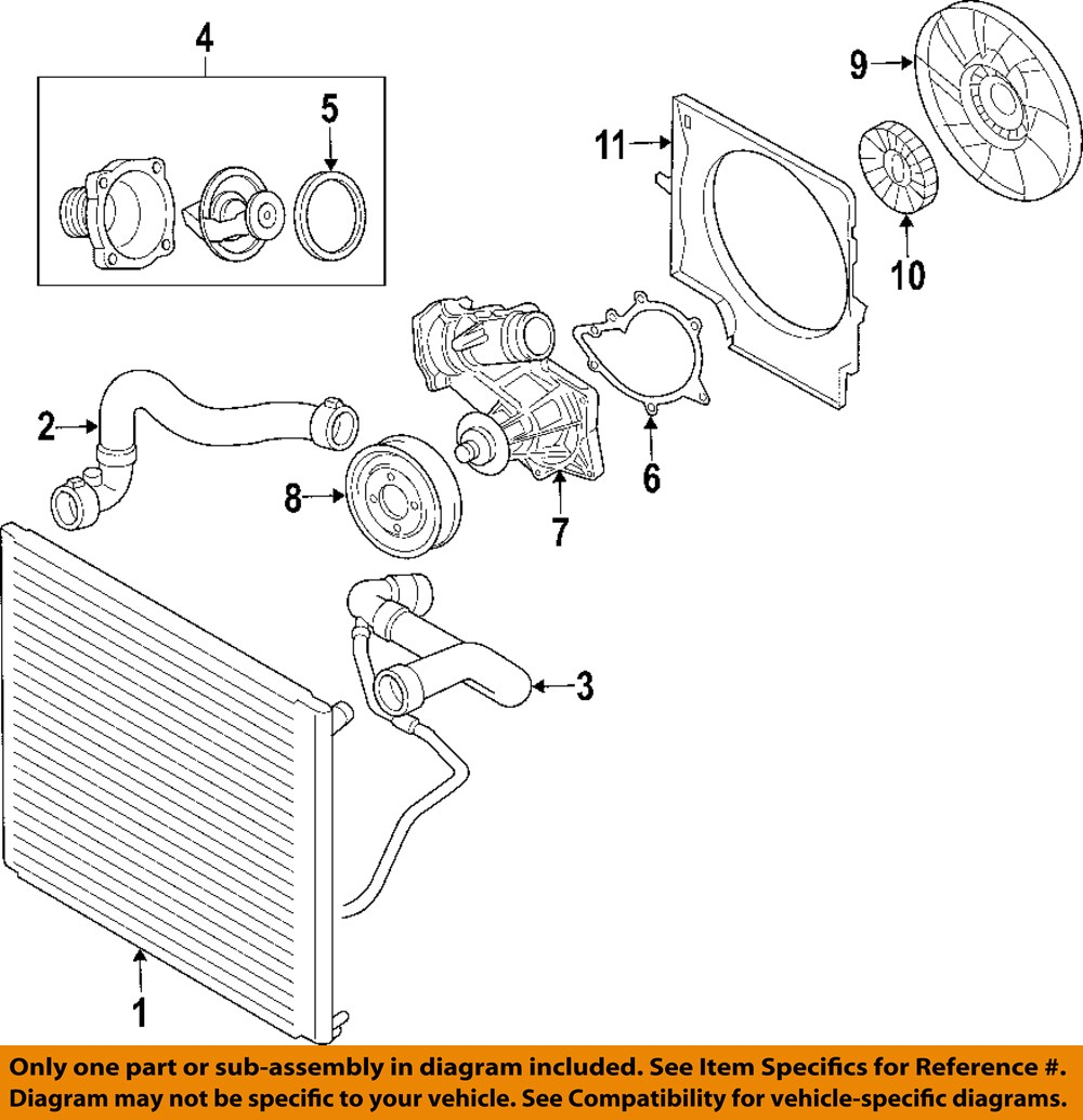 land rover oem 03 05 range rover radiator upper hose Land Rover LR2 Coolant land rover discovery coolant flow diagram