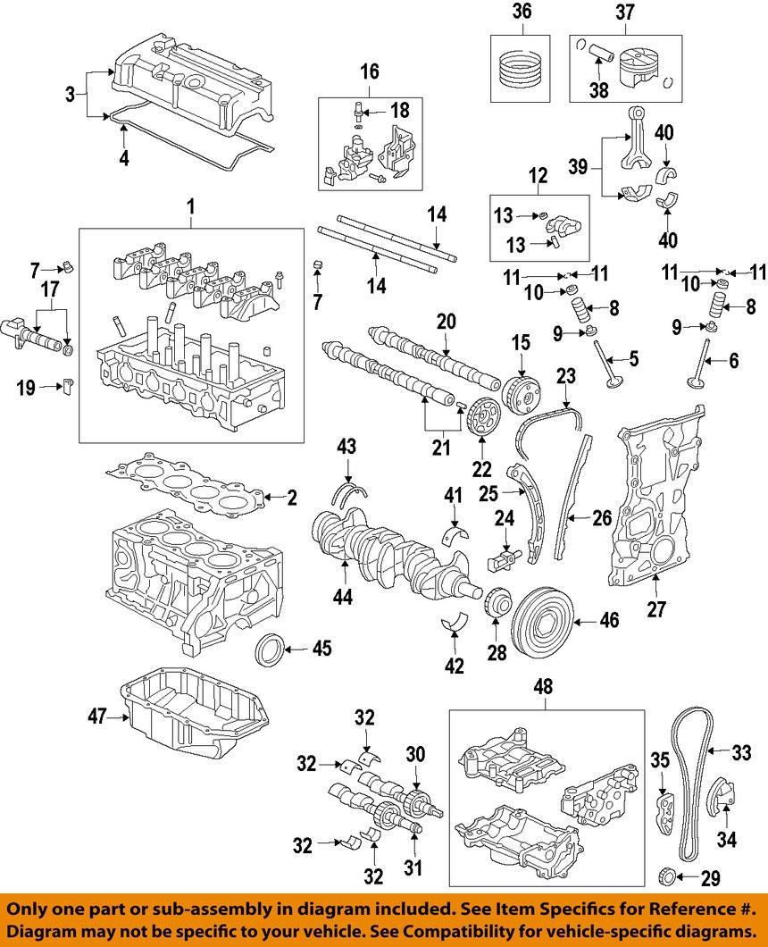 ACURA HONDA OEM Engine Parts-Valve Cover Gasket