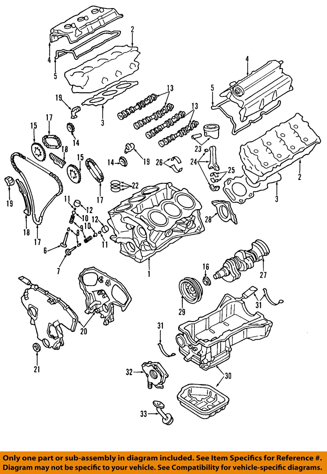 Find Nissan Oem 07 09 Altima Engine Piston 12010ja10a Motorcycle In Bmw 323i Diagram