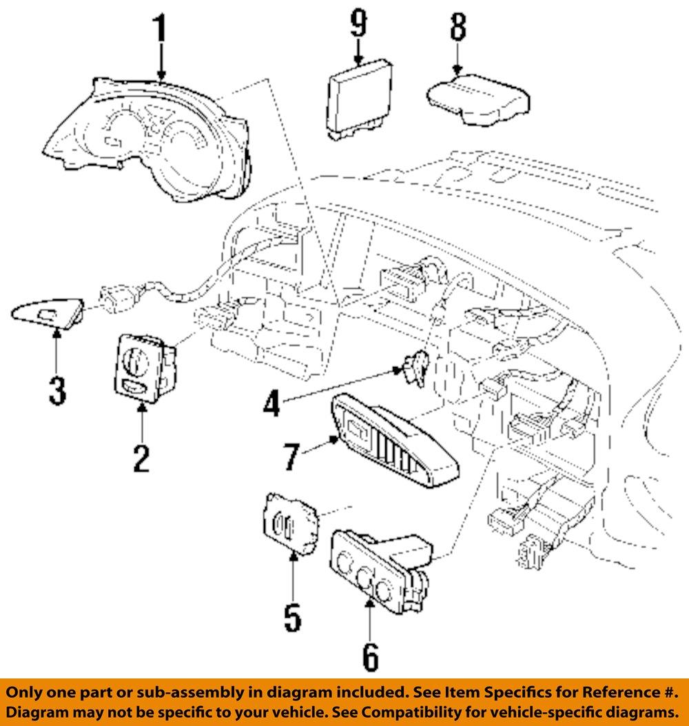 Pontiac Gm Oem Grand Prix Dash Climate Control Unit Hvac Heater A C 2005 Engine Diagram 6 On Only Genuine Oe Factory Original Item