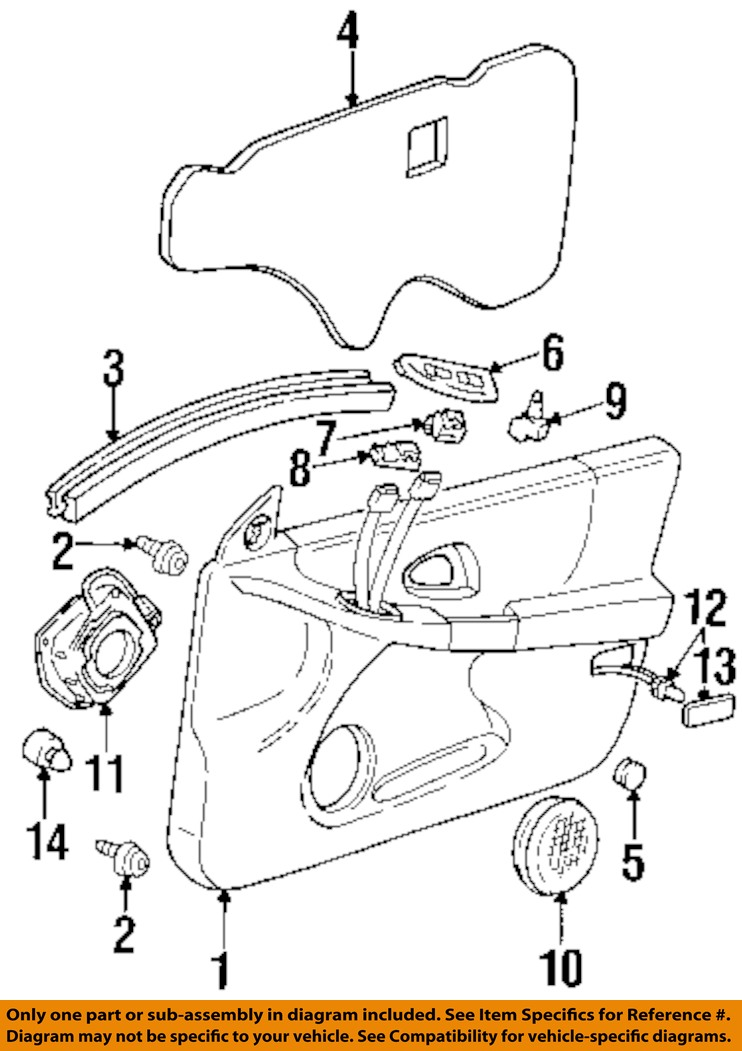 pontiac grand prix door parts diagram  u2022 wiring diagram for
