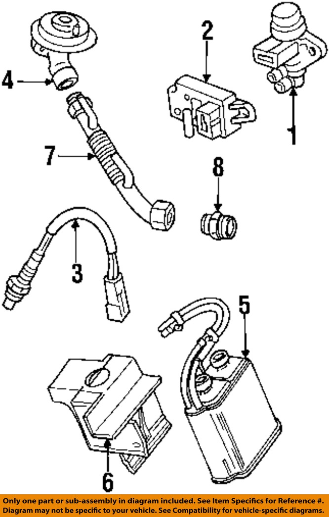 1978 Ford Bronco Vacuum Diagram