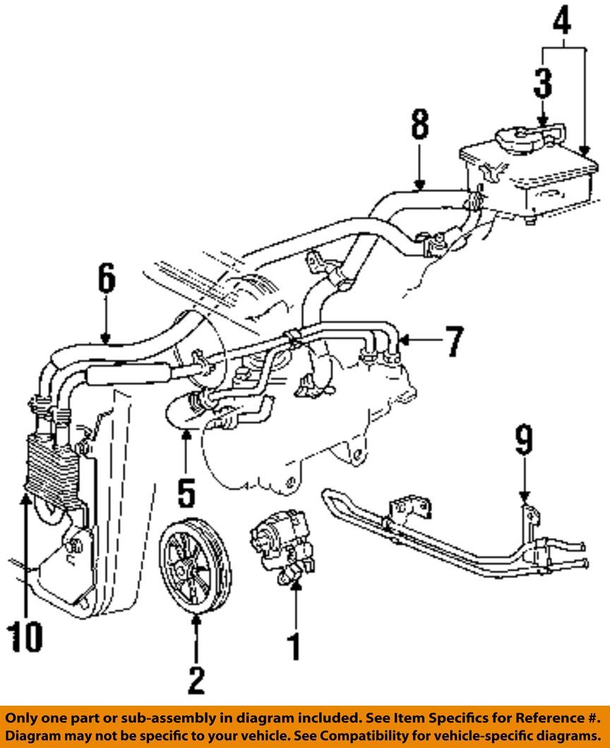 Ford Oem Power Steering Pump