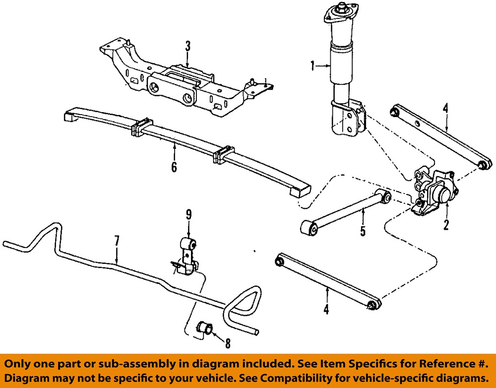 1994 chevy lumina rear suspension diagram  catalog  auto
