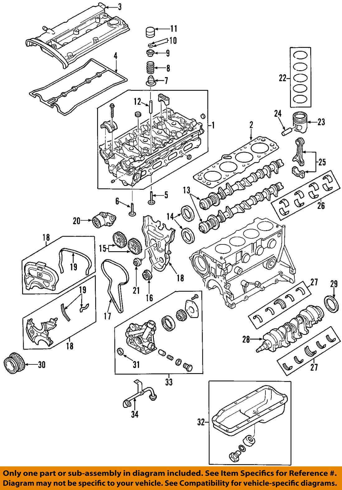 2011 Aveo Engine Diagram Ask Answer Wiring Equinox Chevrolet Gm Oem 04 08 Piston Pin Bushing 96350355 Ebay Rh Com 2010 Chevy 2006