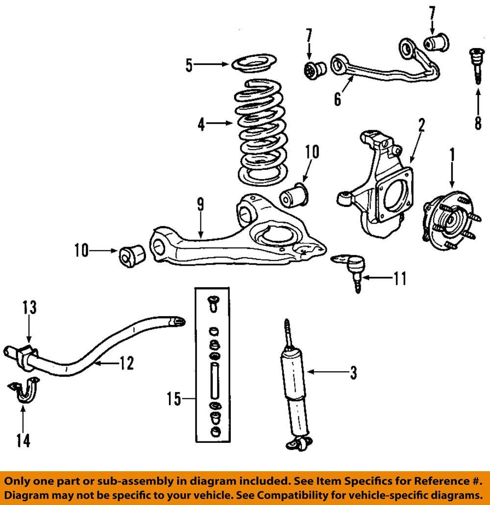 GM OEM Front Suspension-Coil Spring 15032651 | eBay