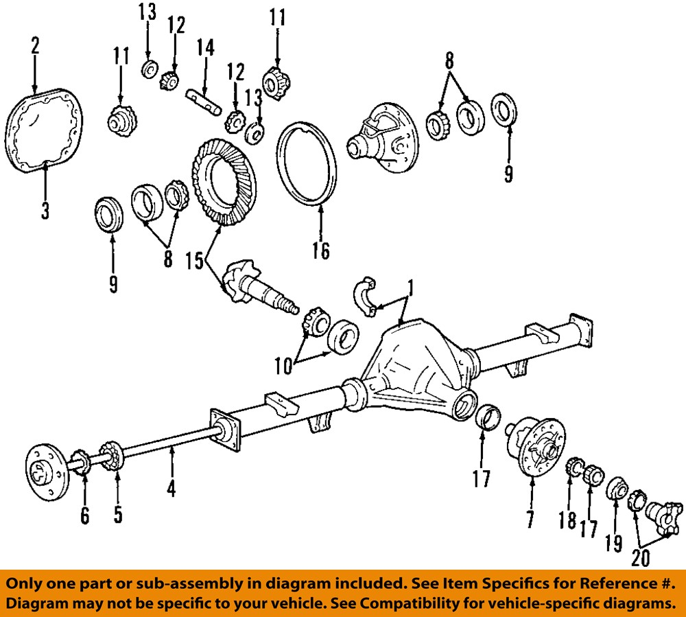 01 ford f250 rear axle diagram 01 tractor engine and ford banjo rear end diagram ford 8.8 rear end diagram