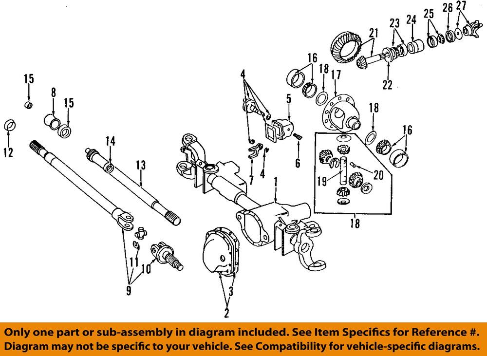 Dodge Truck Front End Diagram : Dodge ram front axle diagram autos post