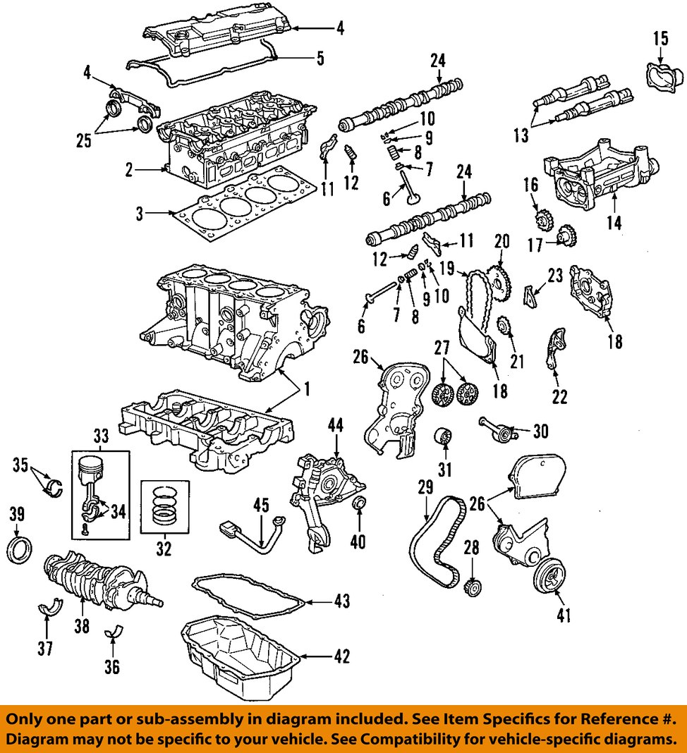 2003 Jeep Liberty Engine Diagram Download Wiring Diagrams For 2005 V6 Chrysler Oem 02 05 Harmonic Balancer 53010477ab Rh Ebay Com 37 2004