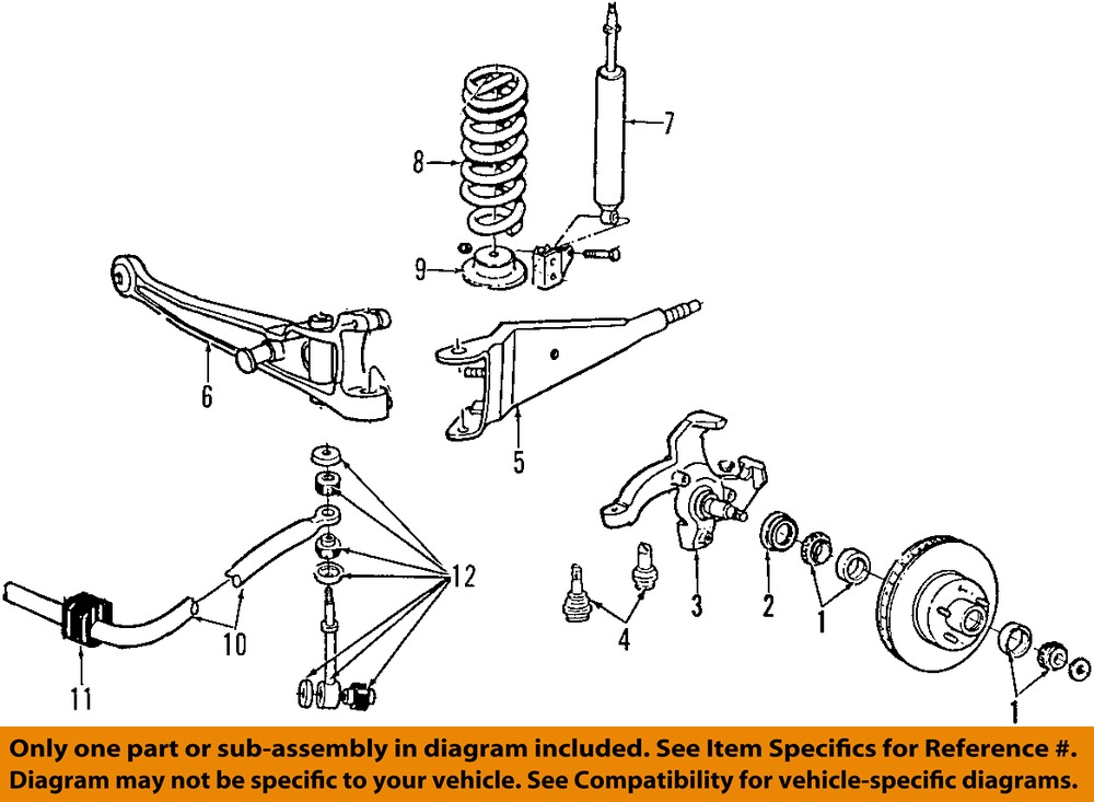 1998 ford e350 front suspension diagram  1998  tractor
