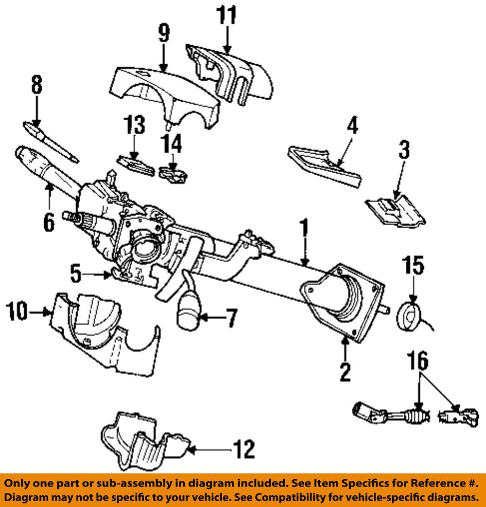 dodge chrysler oem dakota steering column transmission. Black Bedroom Furniture Sets. Home Design Ideas