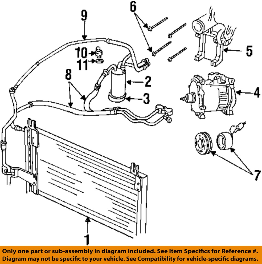 dodge ram ac diagram vyn zaislunamai uk Ford E-350 Fuse Box Diagram dodge chrysler oem 98 02 ram 3500 ac a c air conditioner liquid line 55055834ab ebay dodge ram wiring harness diagram dodge ram wiring diagram 2007