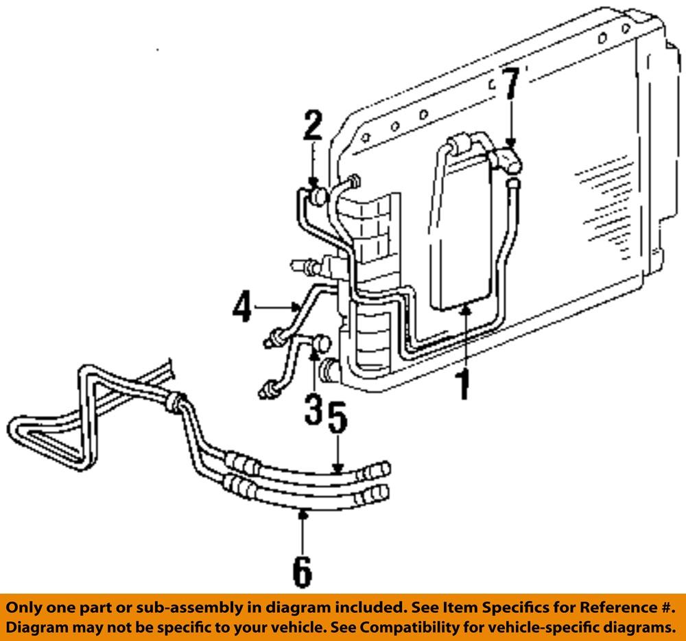 jeep chrysler oem grand cherokee transmission oil cooler hose line 52079680ab ebay. Black Bedroom Furniture Sets. Home Design Ideas